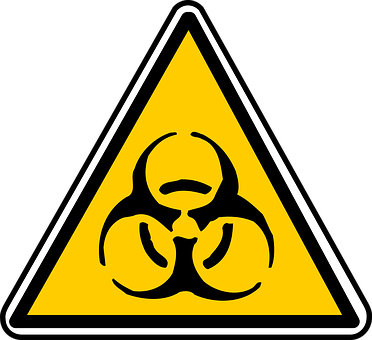 biohazard hazardous waste